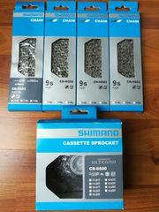 Verschleißset Shimano 9-fach Ultegra Kassette