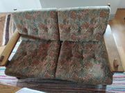 Vintage Couchgarnitur Eiche