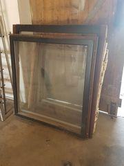 Holzfenster zu verschenken