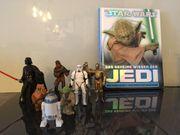 Star Wars Figurenset mit Buch