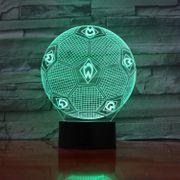 Werder Bremen LED 3D Lampe