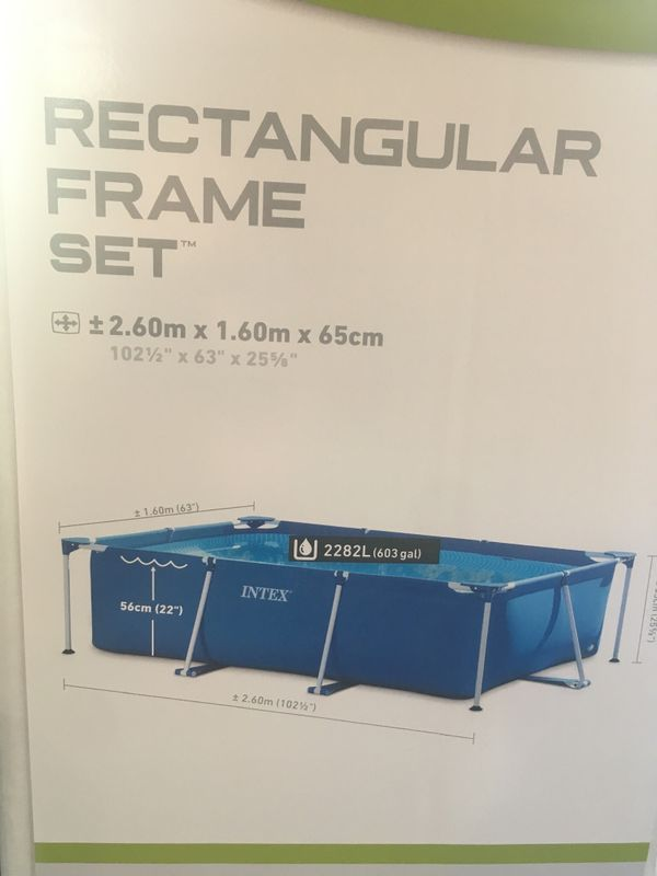 Kleines INTEX Pool