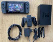 Nintendo Switch mit Tasche und