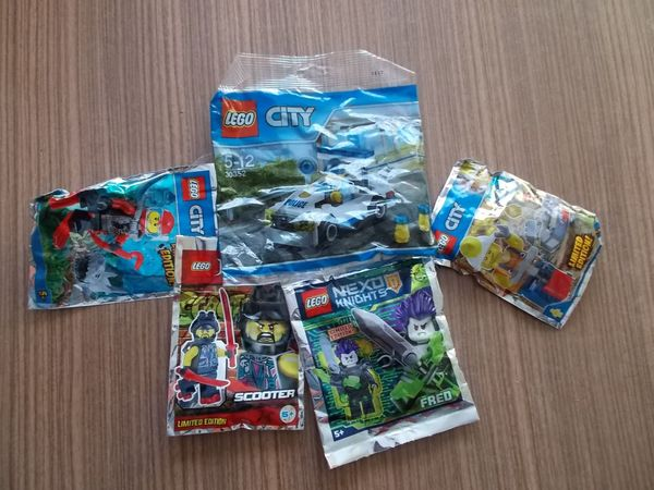 5 Teiliges Jungen Lego Paket