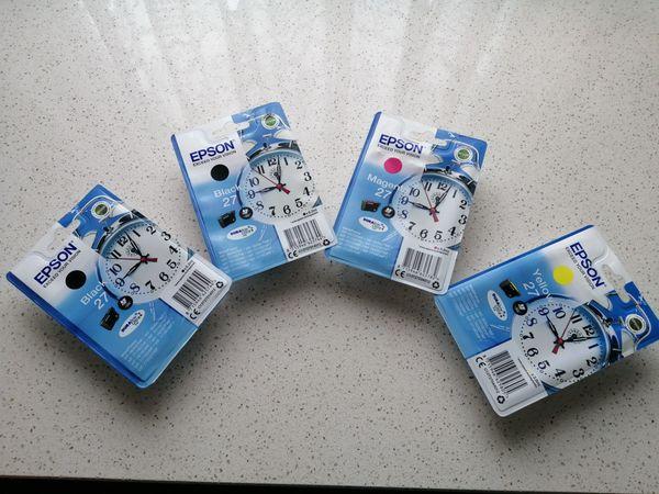 Druckerpatronen Epson 27 Original Farben