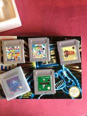 GameBoy Classic inkl Spiele