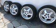 Aluettfelgen mit neuen Reifen