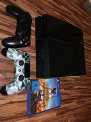 PS4 mit 2 Controller und