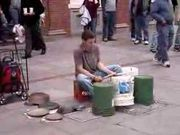 Bucket Drummer/ Street
