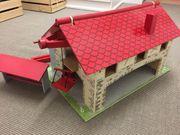 Spiel Bauernhaus aus Holz