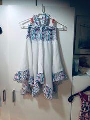 Mädchen Sommerkleid Größe 6 7