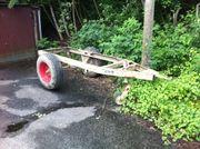 Traktor Anhänger Grundgestell
