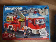 Playmobil Feuerwehr Leiterfahrzeug 4820 mit