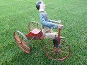 Original Sehr Altes Dreirad vor