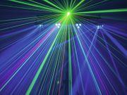 Verleih Eurolite Showlaser-Lichteffektleiste I Partylicht