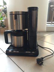 Kaffeemaschine Bosch mit Thermoskanne zu