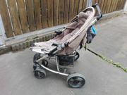 Kinder-Buggy Kinderwagen zusammenklappbar mehrfach verstellbar