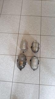 Feuchtraumlampe Kellerlampe Garagenleuchte Metallkäfig Lampe