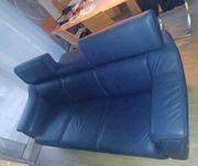 3-Sitzer-Couch von HIMOLLA -echt Leder-