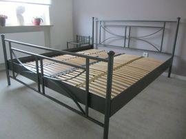 Doppelbett Metall 180x200 cm inkl: Kleinanzeigen aus Roth - Rubrik Betten