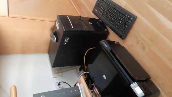 PC Rechner Drucker mit Scanner