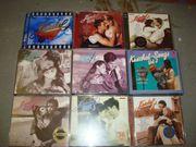 Musik CD s verschiedene Richtungen