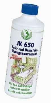 Kalk- und Urinsteinlösungskonzentrat JK650 830