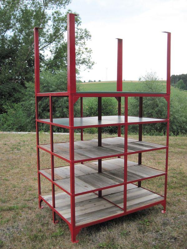 Stahlregal Werkstattregal Regal Breit 16m Tief 12m Hoch 182m In