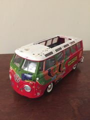 Modellauto VW Bully T1 Flower