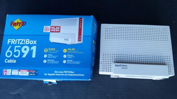 Neuwertige Fritz Box 6591 Cable