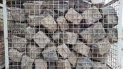 Basalt-Pflasterstein Kopfsteinpflaster groß ca 15