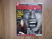 Musikexpress Sounds Nr 8 - August