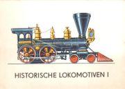 DDR 12 Ansichtskarten Historische Lokomotiven