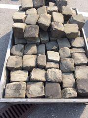 50 Stk Sandsteinwürfel-Naturstein verschiedene Größen