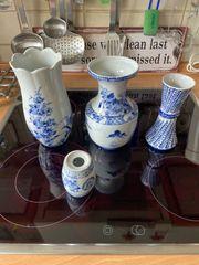 Vasen und Öllampen 20 cm