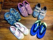 Turnschuhe halboffene Schuhe Ballarinas Wasserschuhe