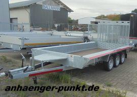 Anhänger, Auflieger - PKW XL TRIDEM MINI-Bagger Anhänger