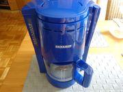 Kaffeemaschine Severin Typ 4041 blau