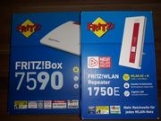 Fritzbox 7590 FRITZ WLAN Repeater