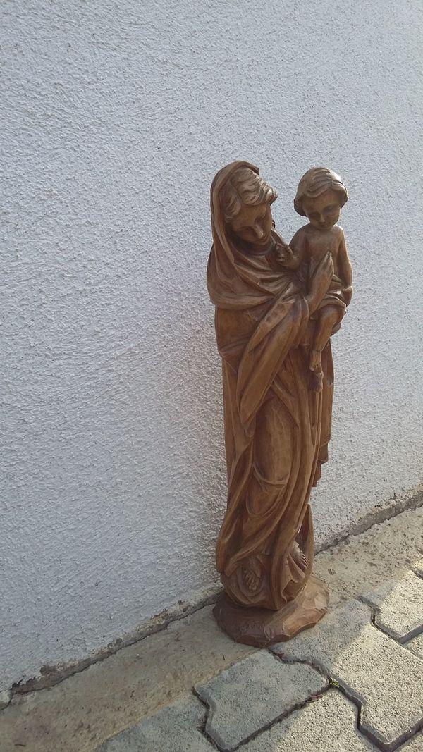 Madonna Holzfigur aus » Sonstige Antiquitäten