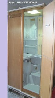 Waschraum Nasszelle Bad für Selbstausbauer