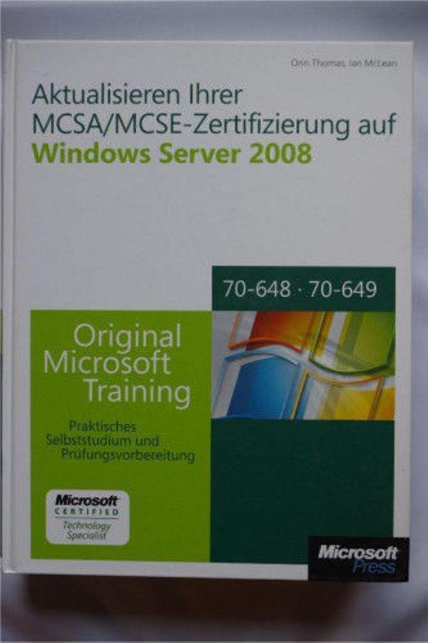 MCSA/MCSE-Zertifizierung auf Windows Server 2008 in Jena ...