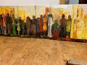 Ölbilder Serie drei Stück