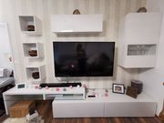 Wohwand Hochglanz LED TV Sideboard