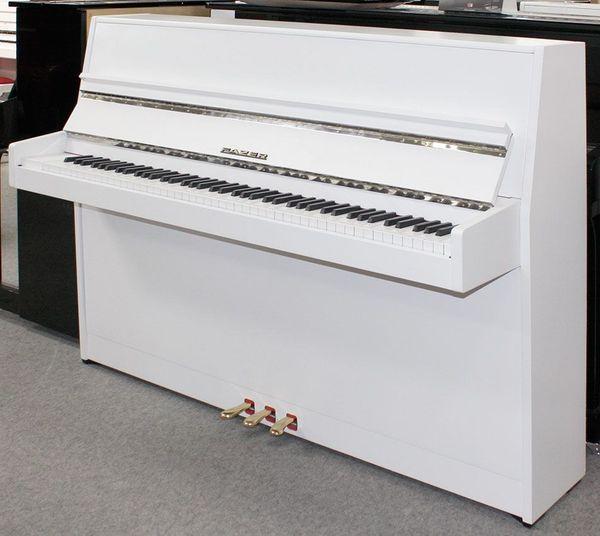 Klavier Fazer 109 cm weiß