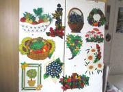 Obstkörbe Obstbilder etc DIN A