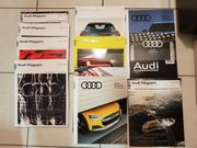 Audi Magazine 2014 bis 2017