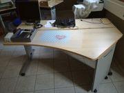 Schreibtisch zu verkaufen - ausziebar gebraucht