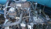 VW 4-Zylinder TURBO Dieselmotor mit