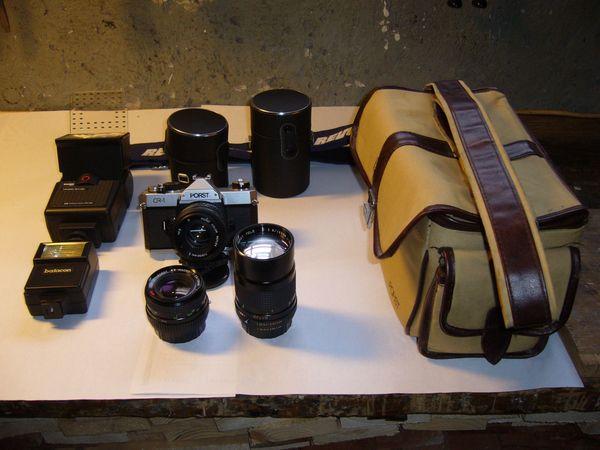 Spiegelreflexkamera CR - 1 Set